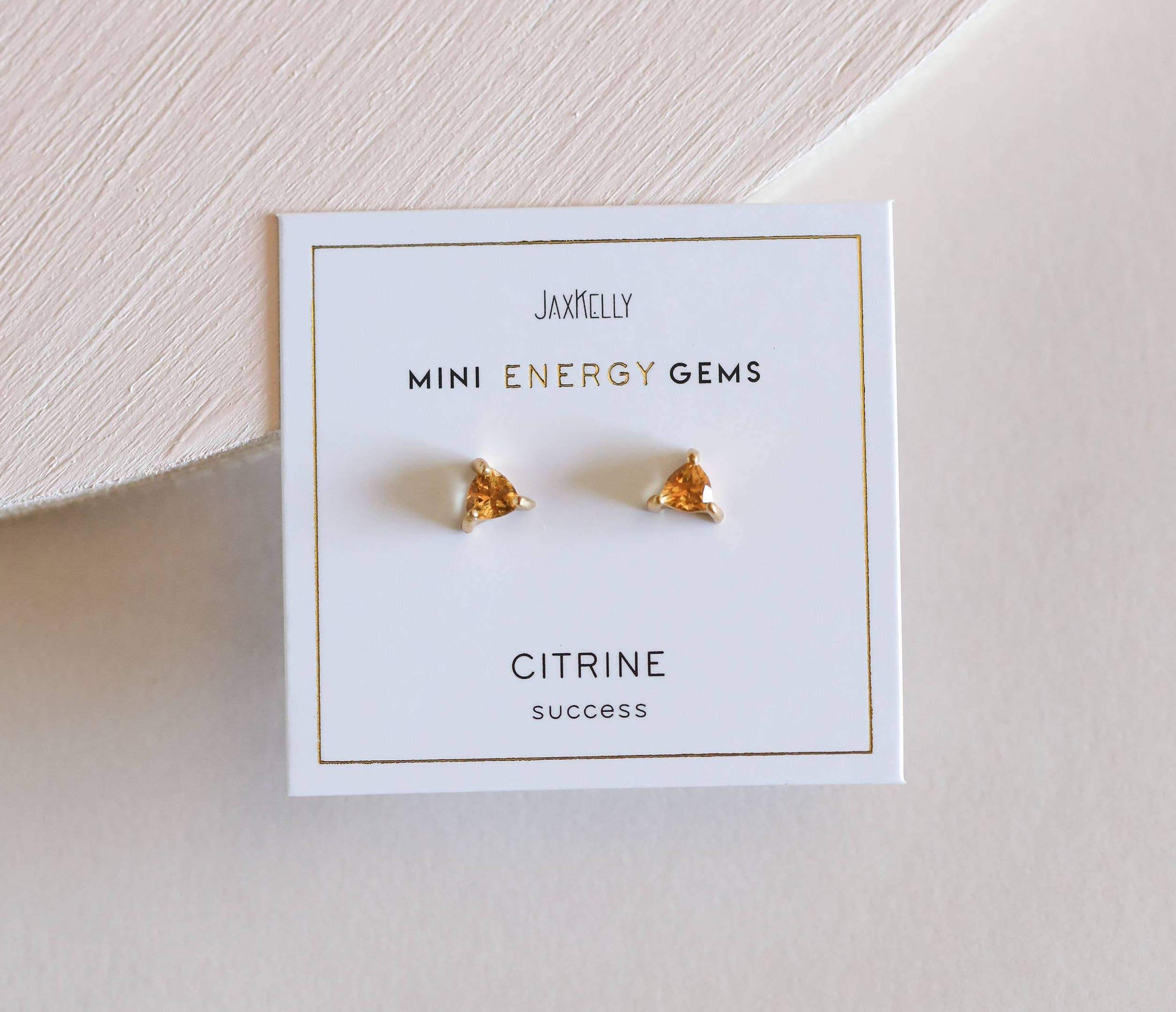 Citrine Mini Energy Gems