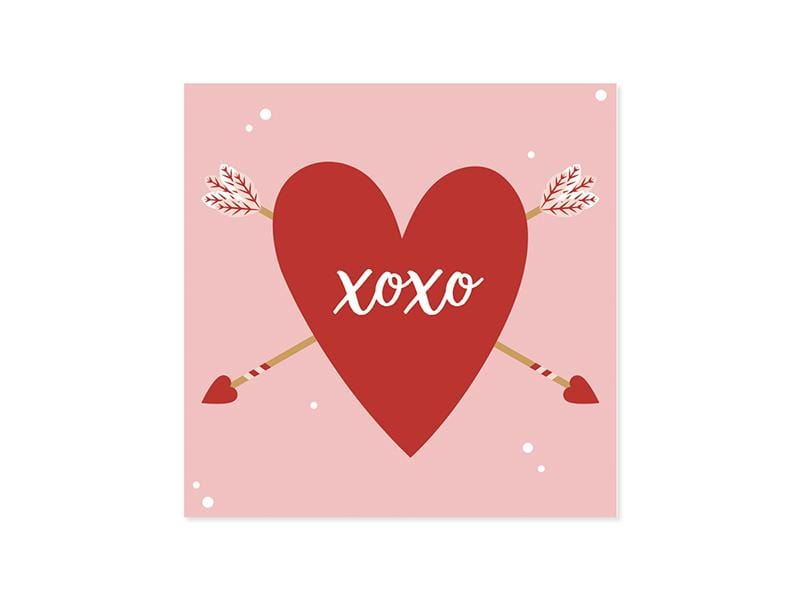Classic Heart Valentine Pop-Up Card
