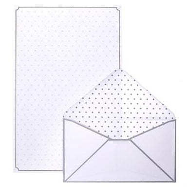 Classic Silver Stationery Set