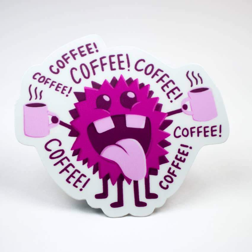 Coffee! Coffee! Sticker