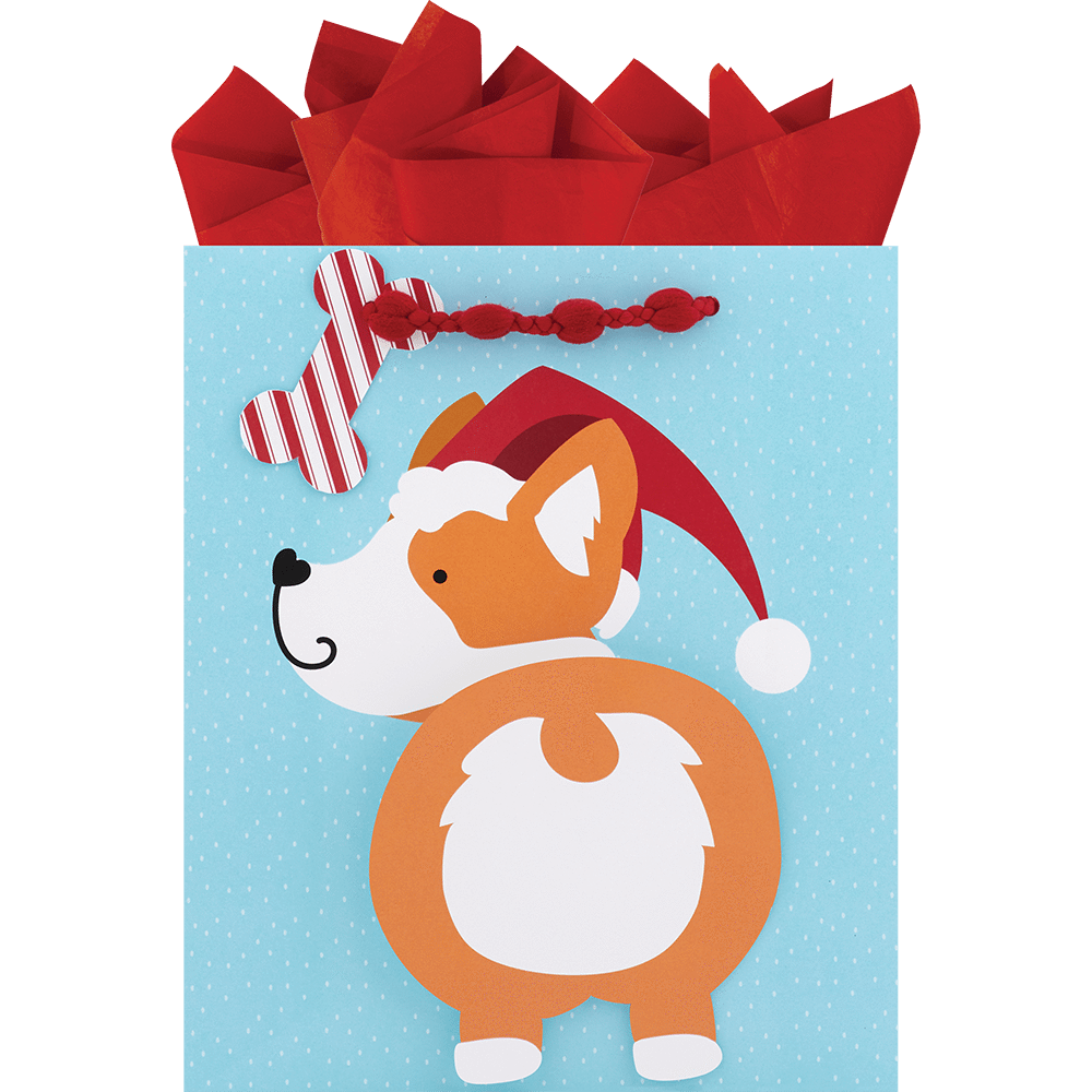 Corgi Christmas Medium Bag