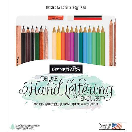 Deluxe Hand Lettering Pencil Set