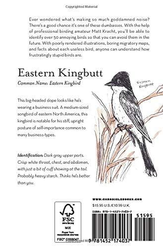 The Field Guide to Dumb Birds of North America