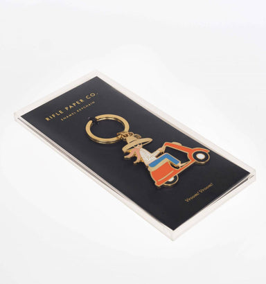 Scooter Keychain by Rifle Paper Co.