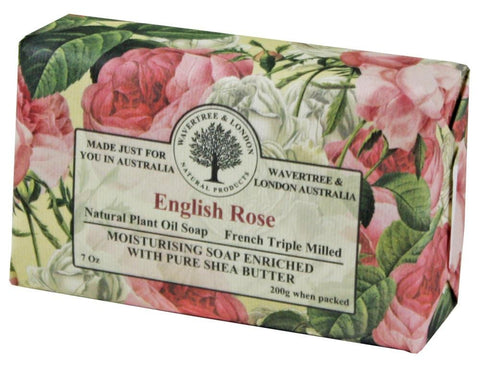 Wavertree & London Bar Soap 7oz - English Rose