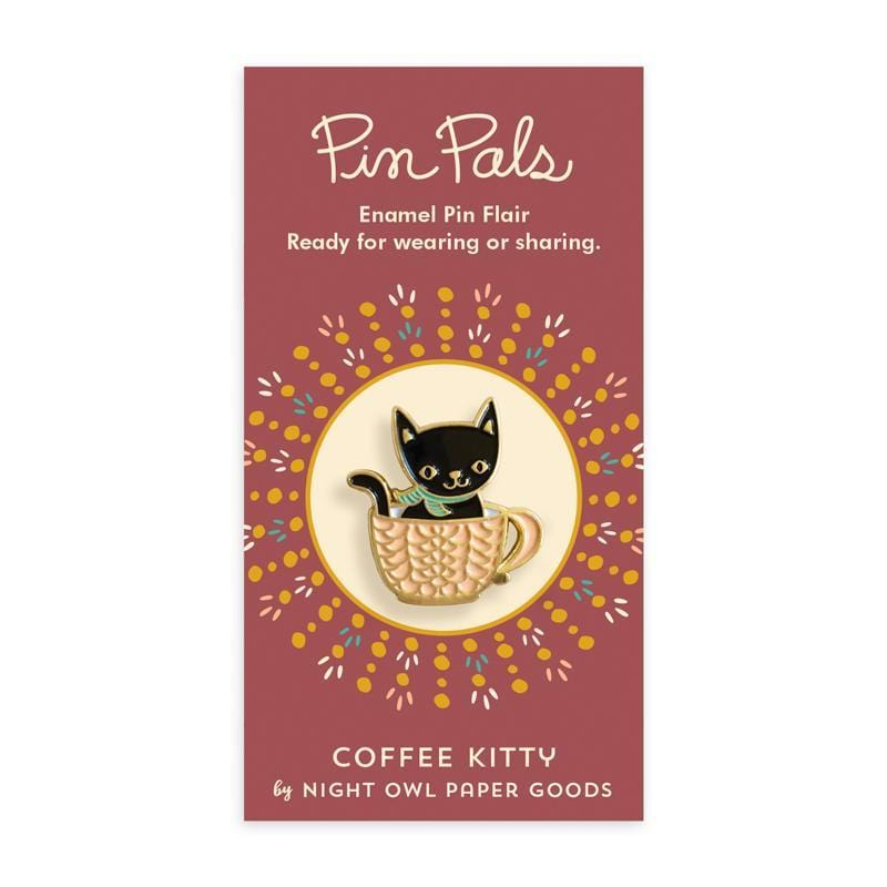 Pin Pals - Coffee Kitty