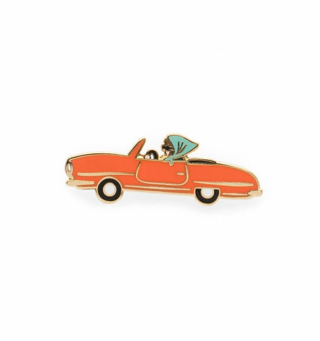 Rifle Paper Co Car Enamel Pin