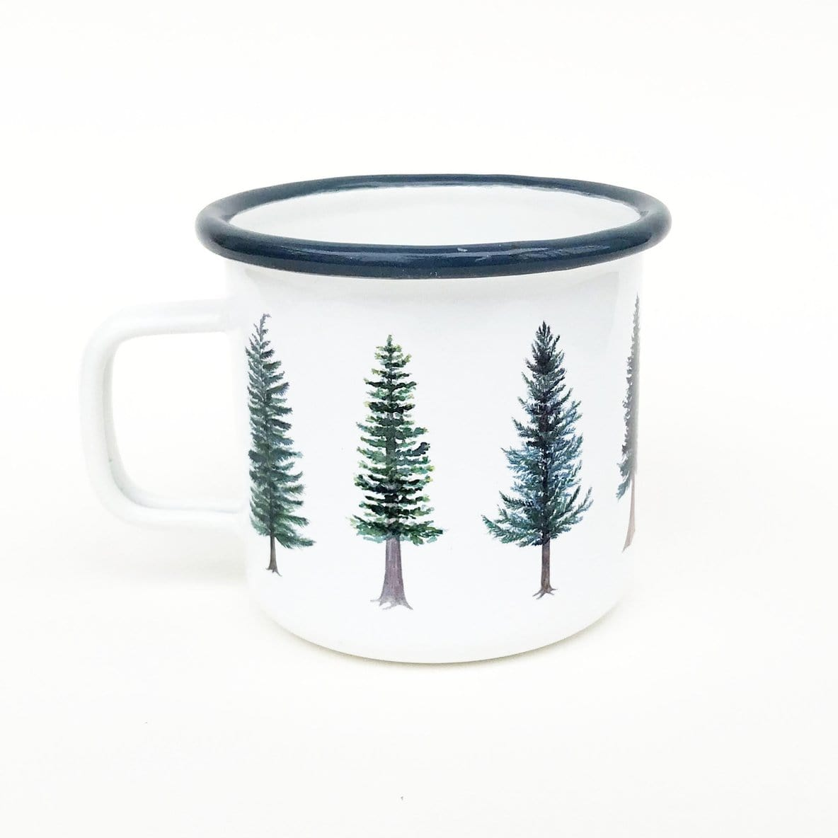 Evergreen Enamel Camp Mug
