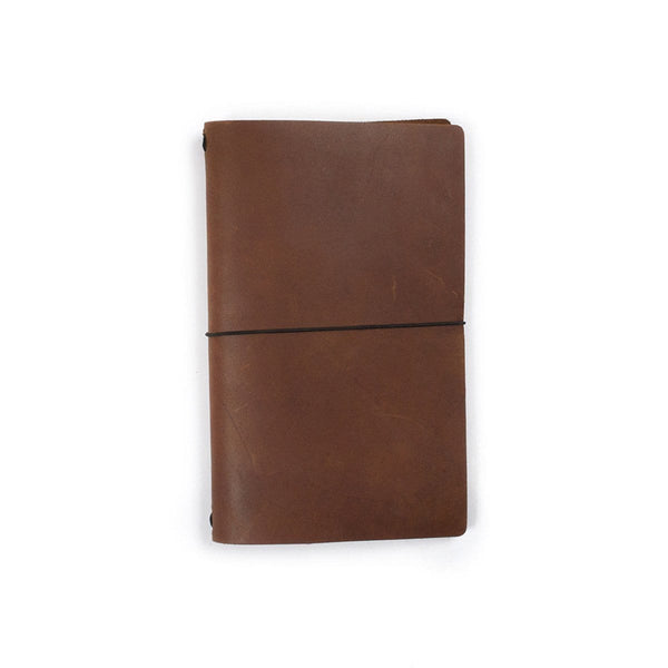 Expedition Leather Notebook - Saddle
