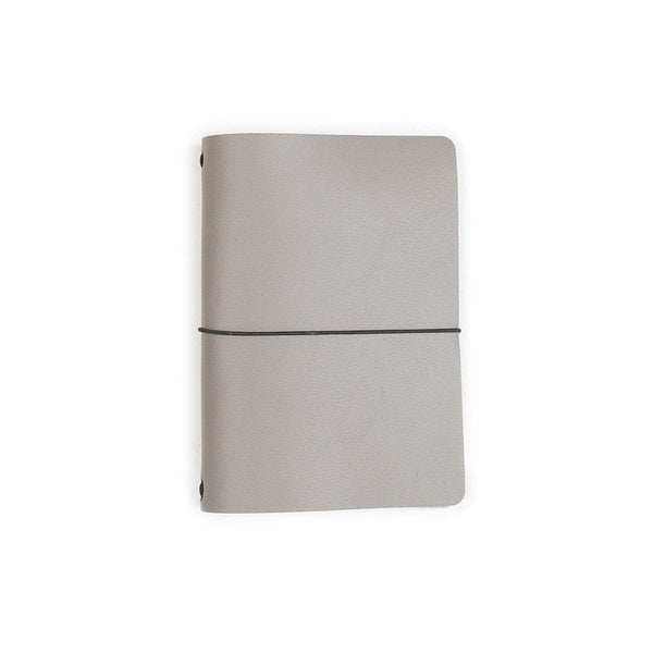 Expedition Point Five Leather Notebook - Stone