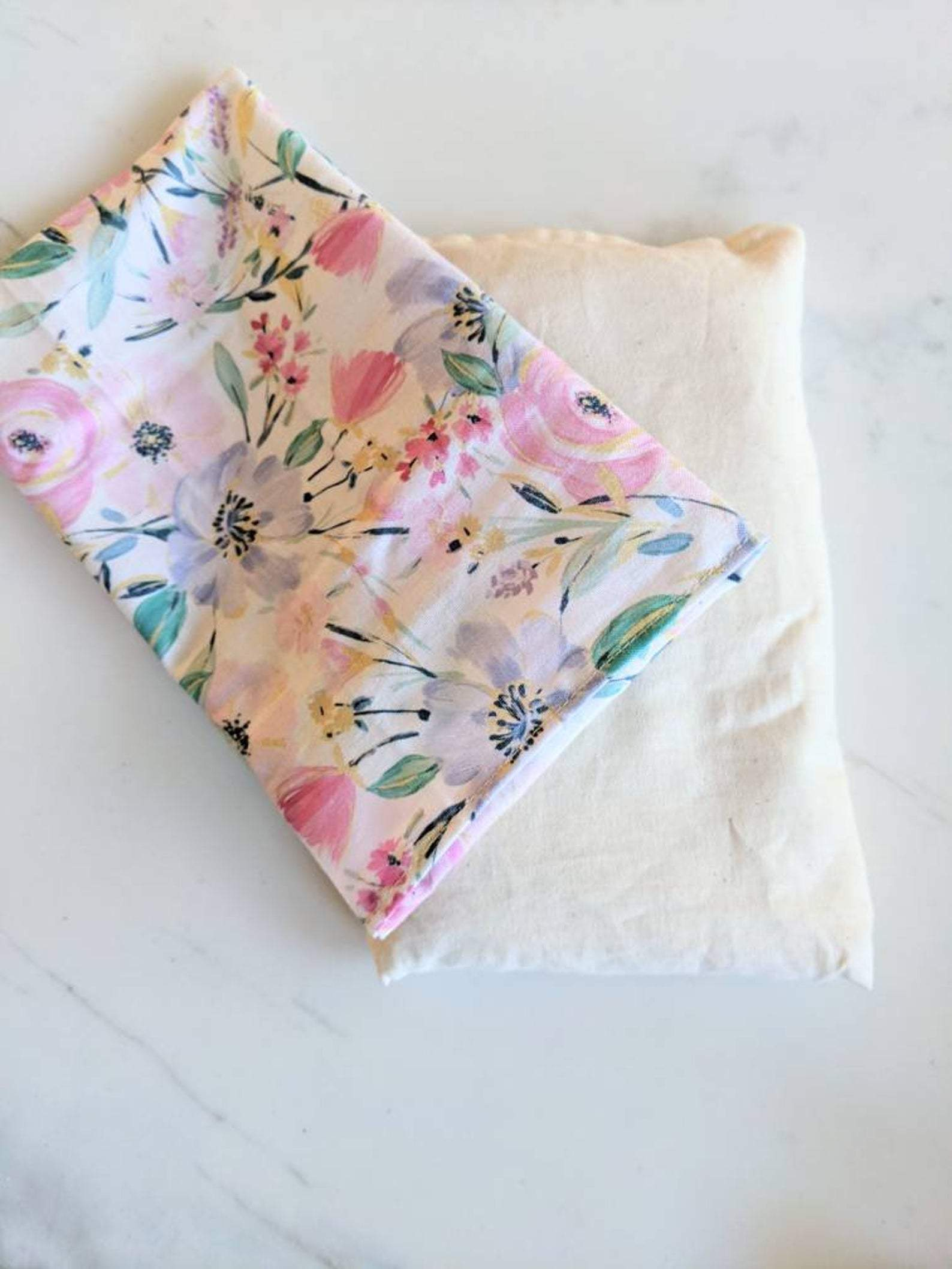 Weighted Eye Pillow - Watercolor Floral