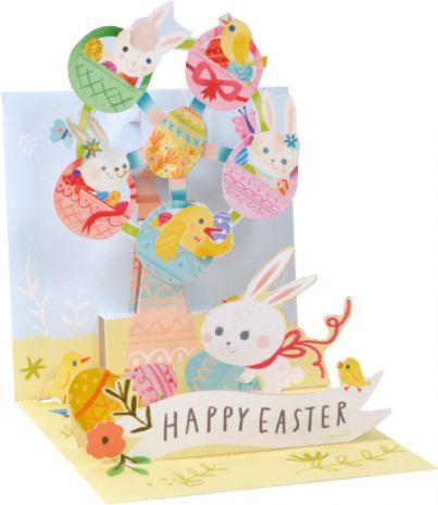 Easter Ferris Wheel Pop-Up Card