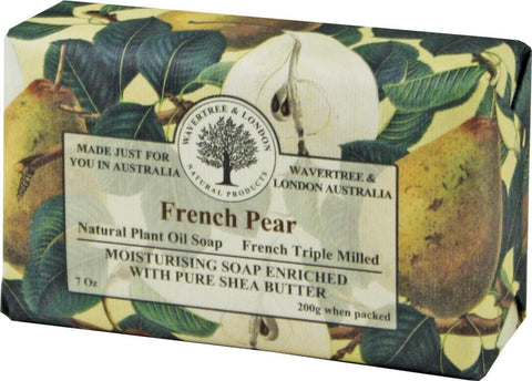 Wavertree & London Bar Soap 7oz - French Pear