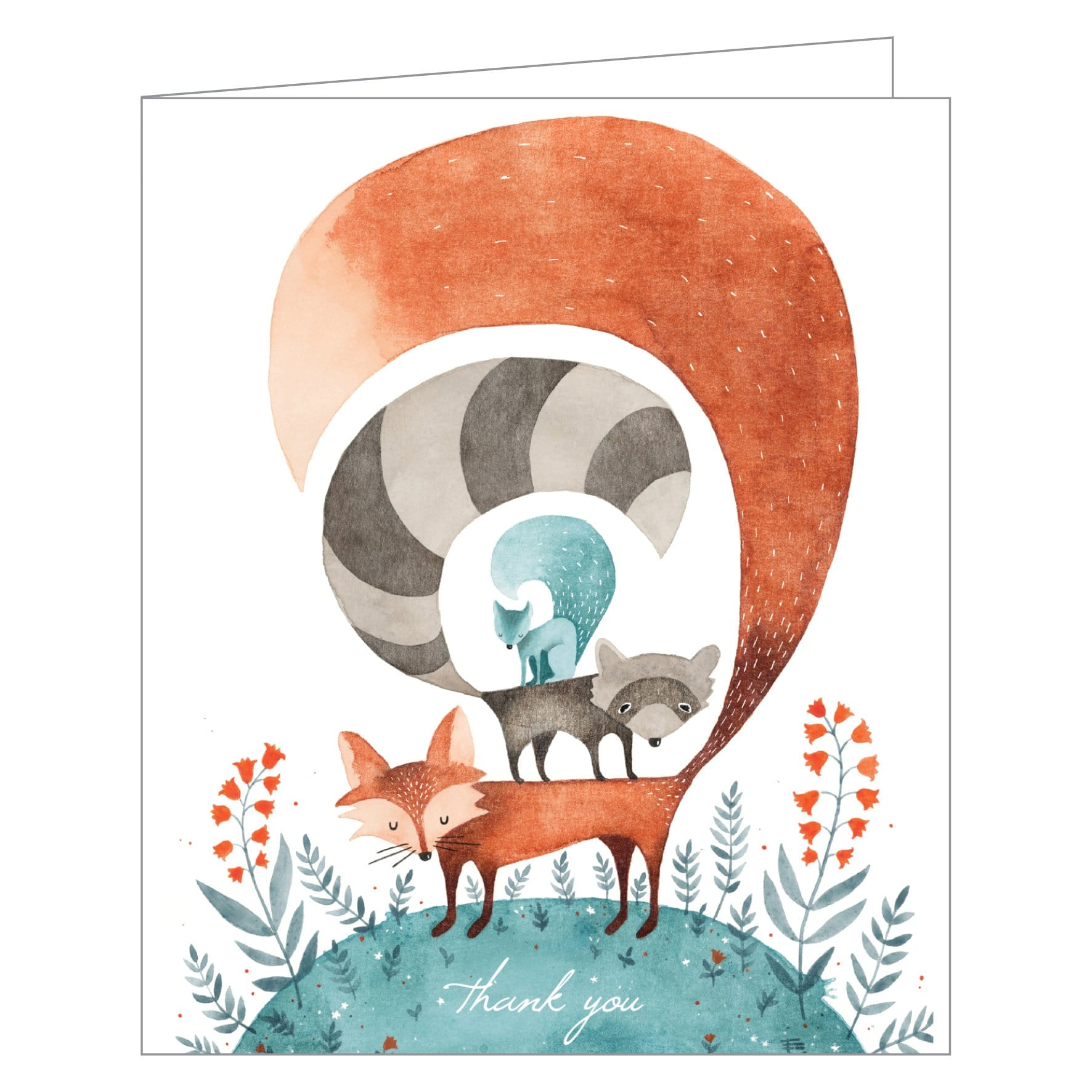 Friends of the Forest Thank You Cards