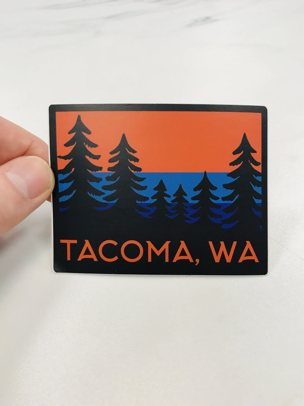 Tacoma Trees Sticker