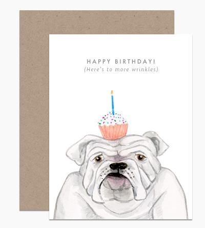 More Wrinkles Birthday Card