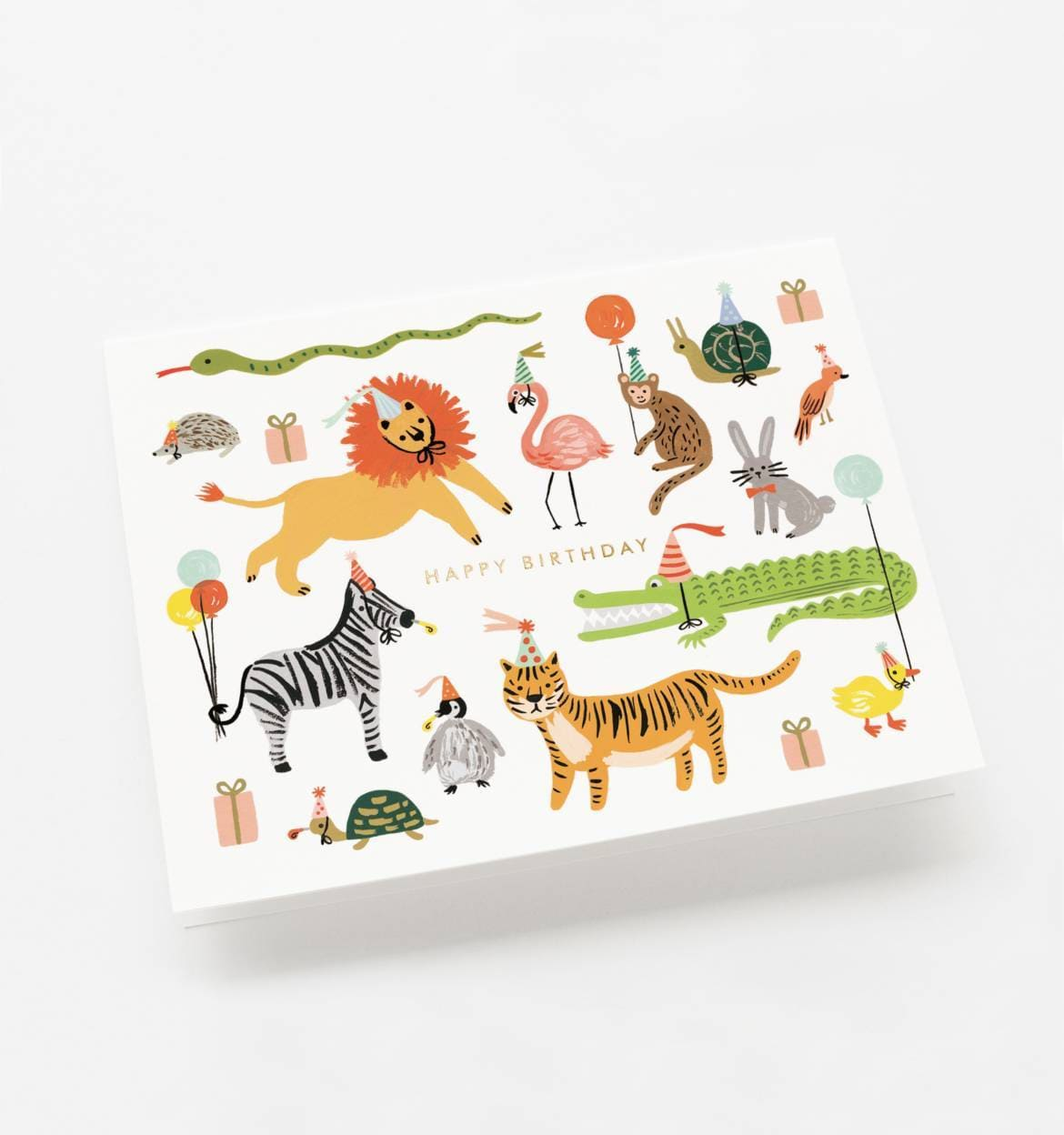 Party Animal Party Birthday Card