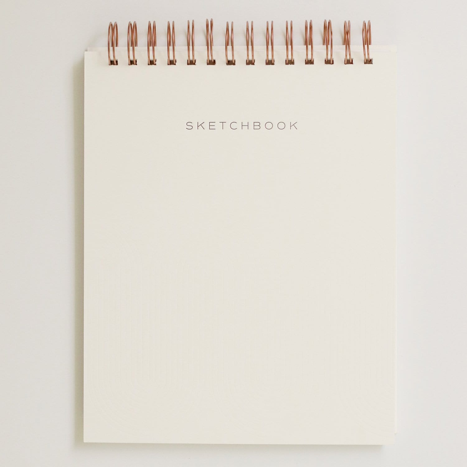 Geometric Letterpress Notebook