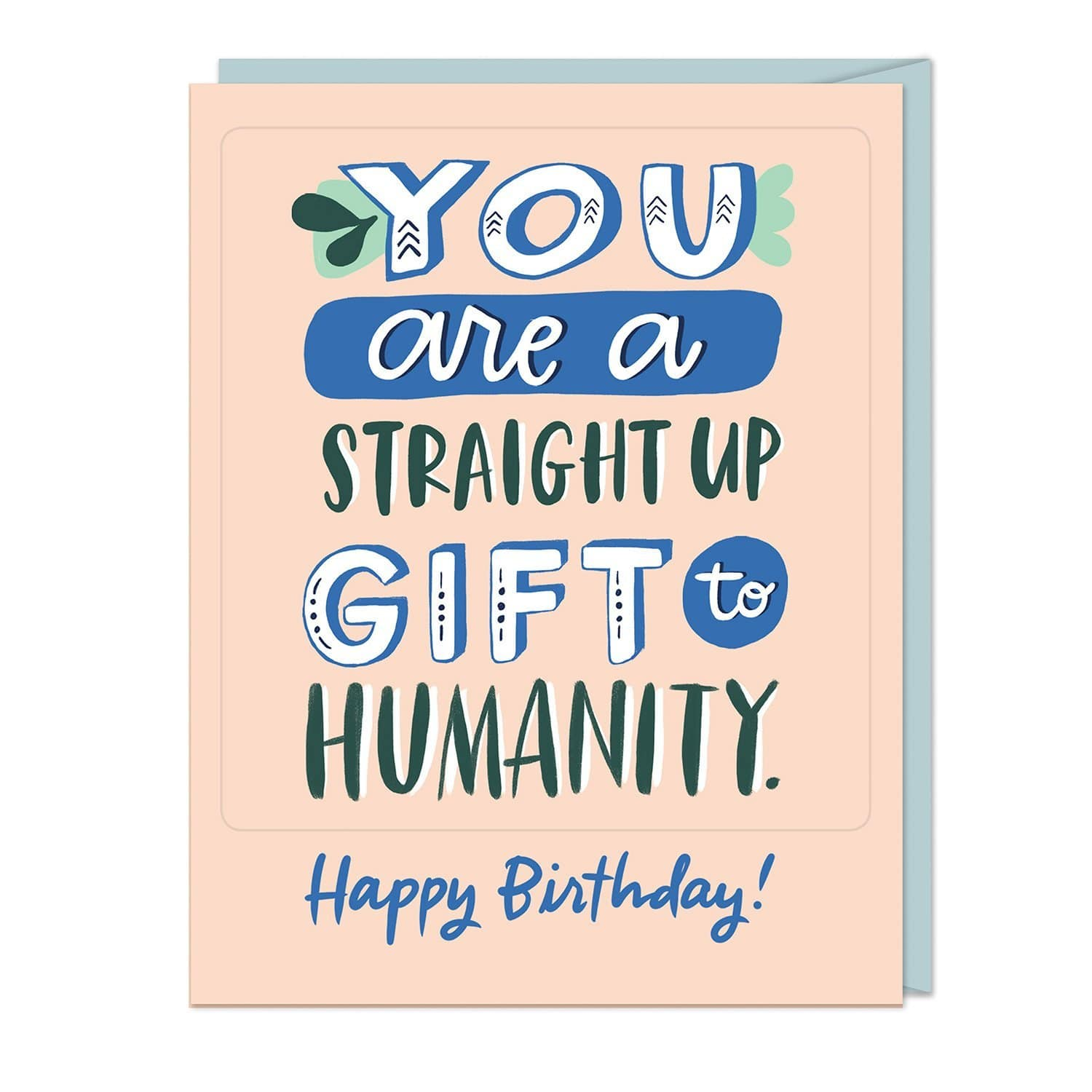 Gift To Humanity Sticker Card