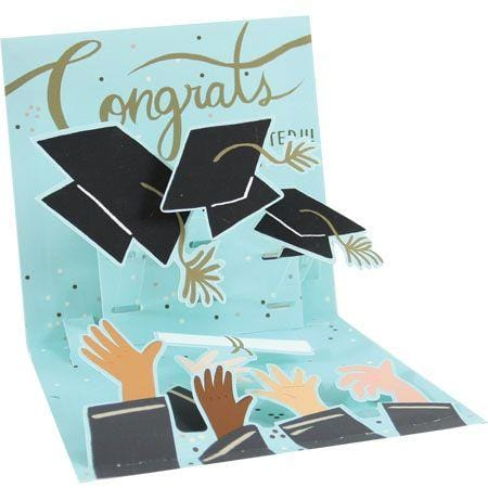 #Graduate Graduation Pop-Up Card