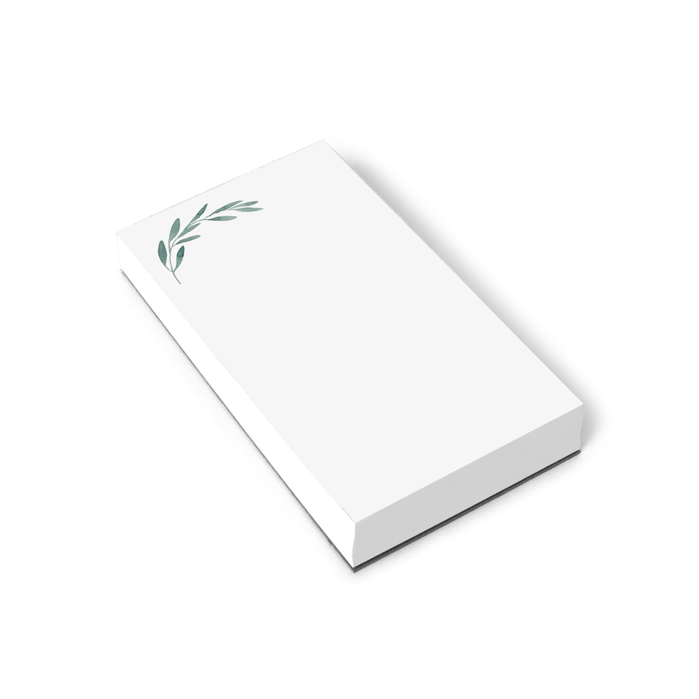 Green Olive Branch Notepad