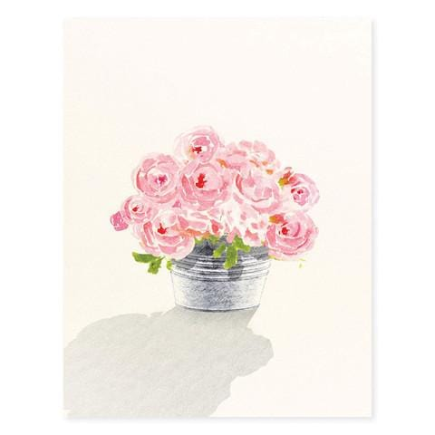 Happiness is Pink Greeting Card
