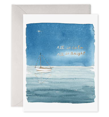 Holiday Sailboat Boxed Card Set