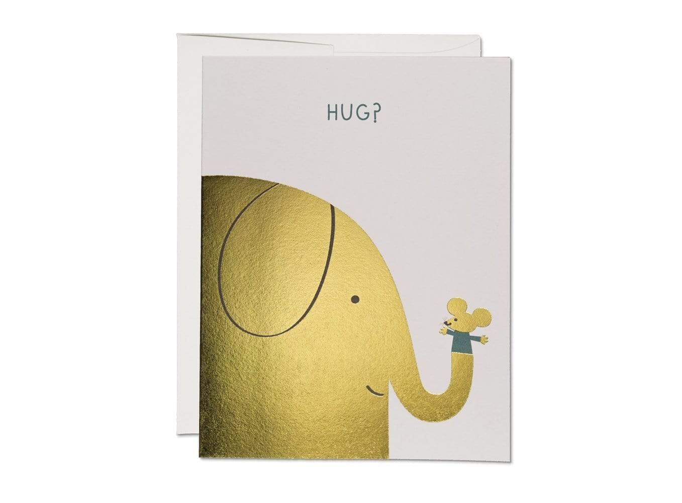 Elephant Hugs Encouragement Card