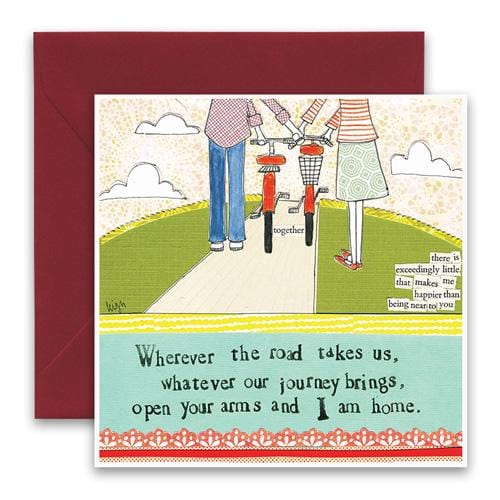 I Am Home Greeting Card