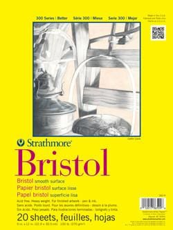 300 Series Bristol Paper by Strathmore