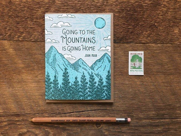 Muir Quote Single Card