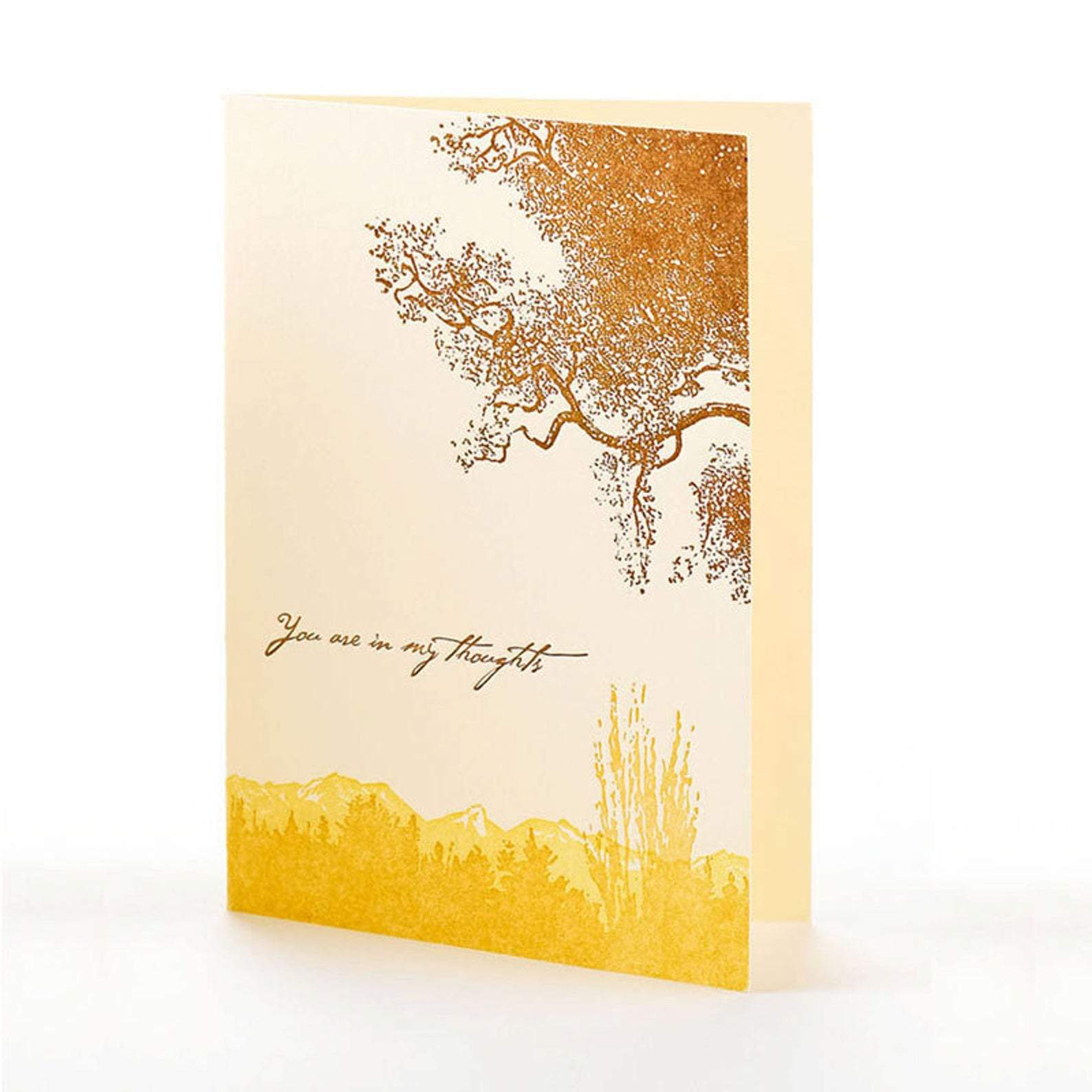 "Trees ""You're in my thoughts"" Card"