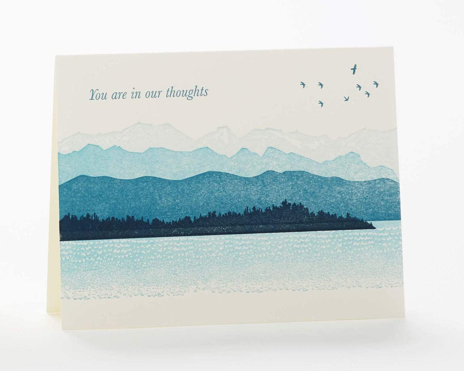 "Mountains ""You are in our thoughts..."" Card"