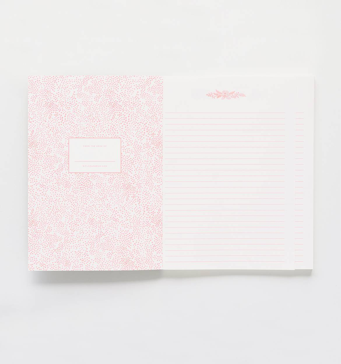 Juliet Rose Memoir Notebook