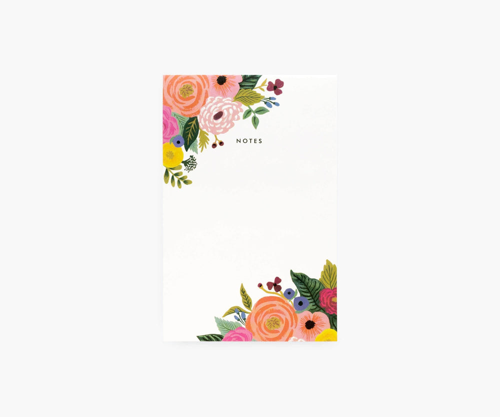 Juliet Rose Blank Notepad