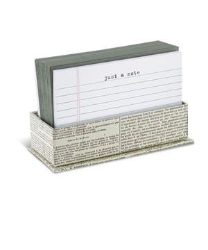 'Just A Note' Flat Note Card Set