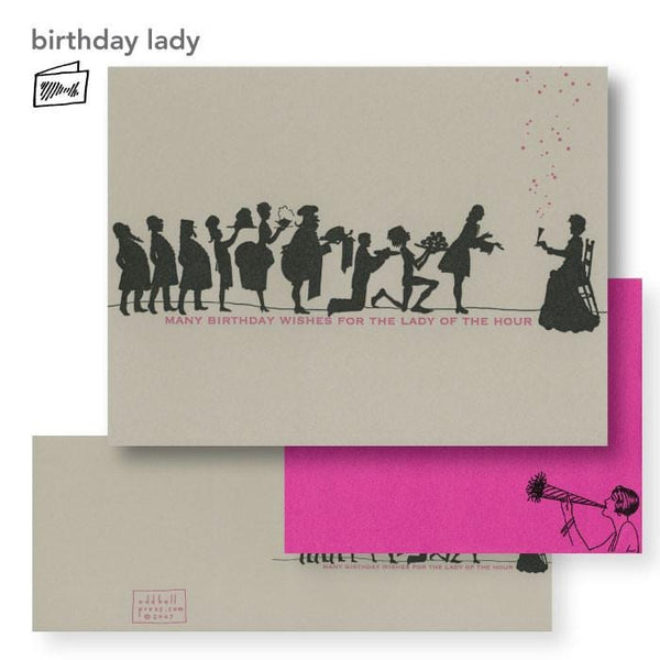 Lady of the Hour Birthday Card