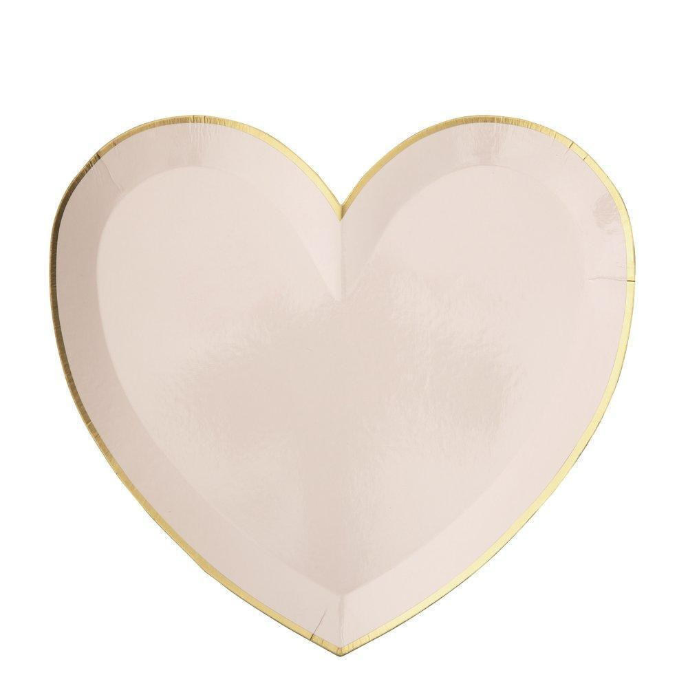 Party Palette Heart Large Plates