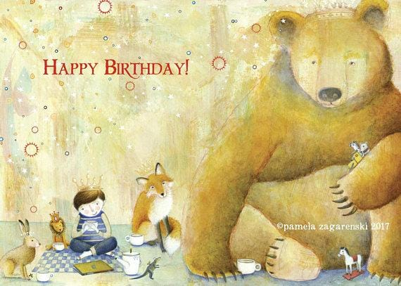 Leo's Birthday Card