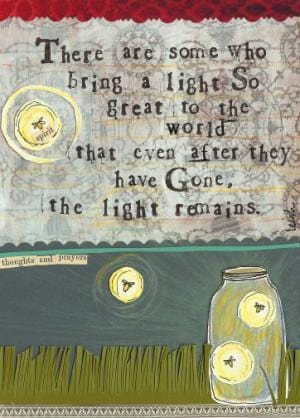 Light Remains card
