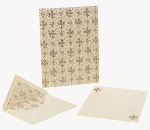 Lilium Large Italian Stationery Set - Large