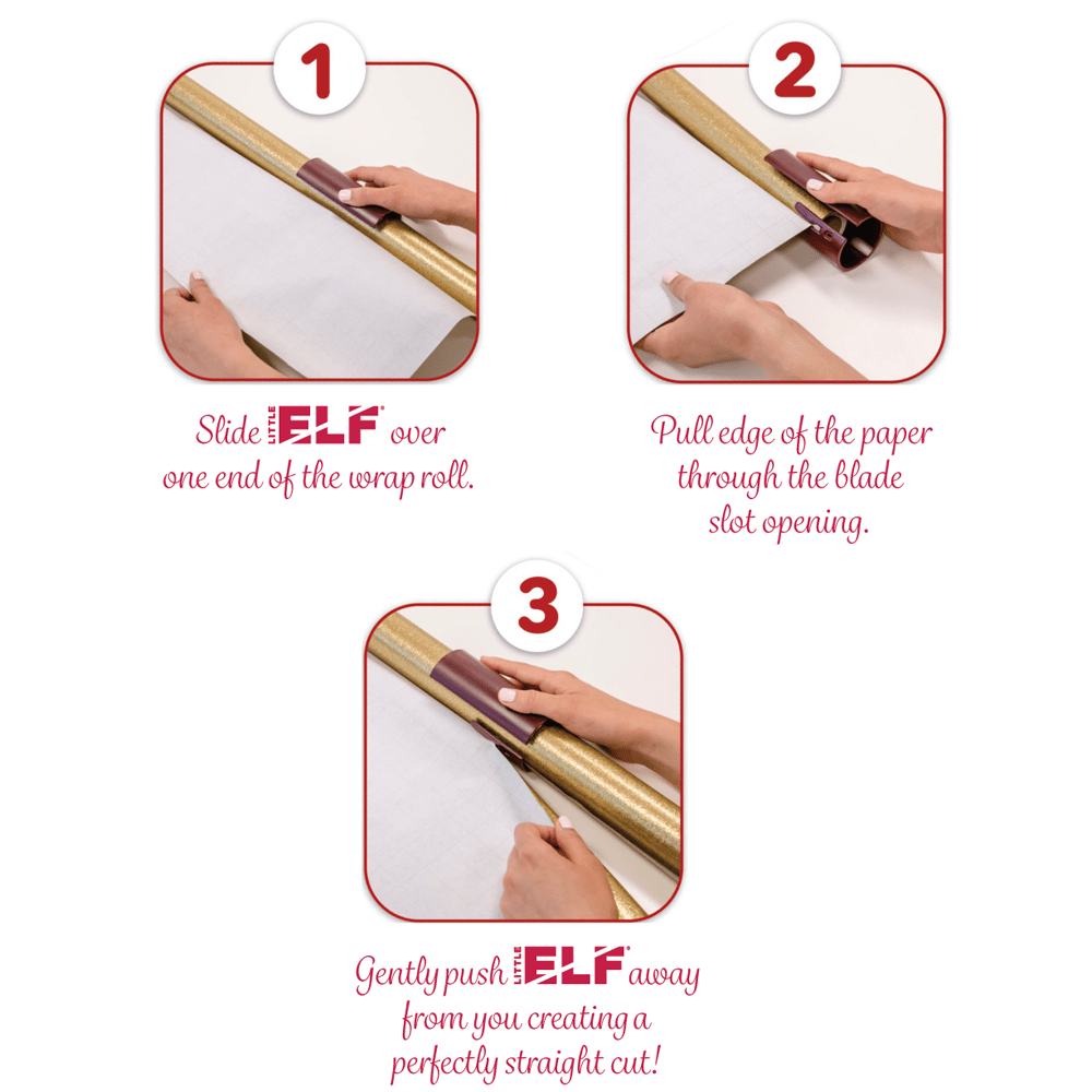 Little Elf Gift Wrap Cutter