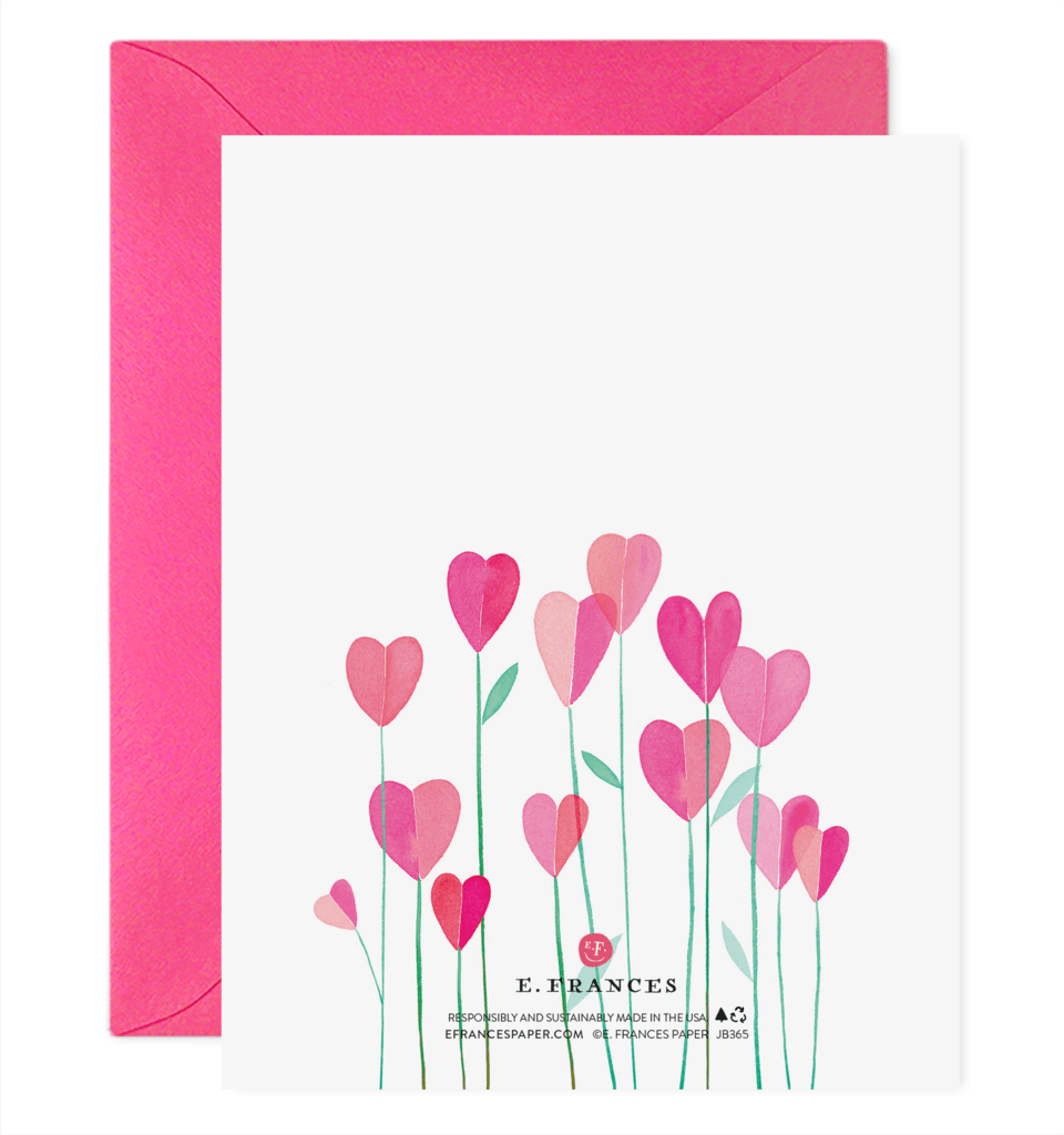 Love Grows Valentine's Day Card