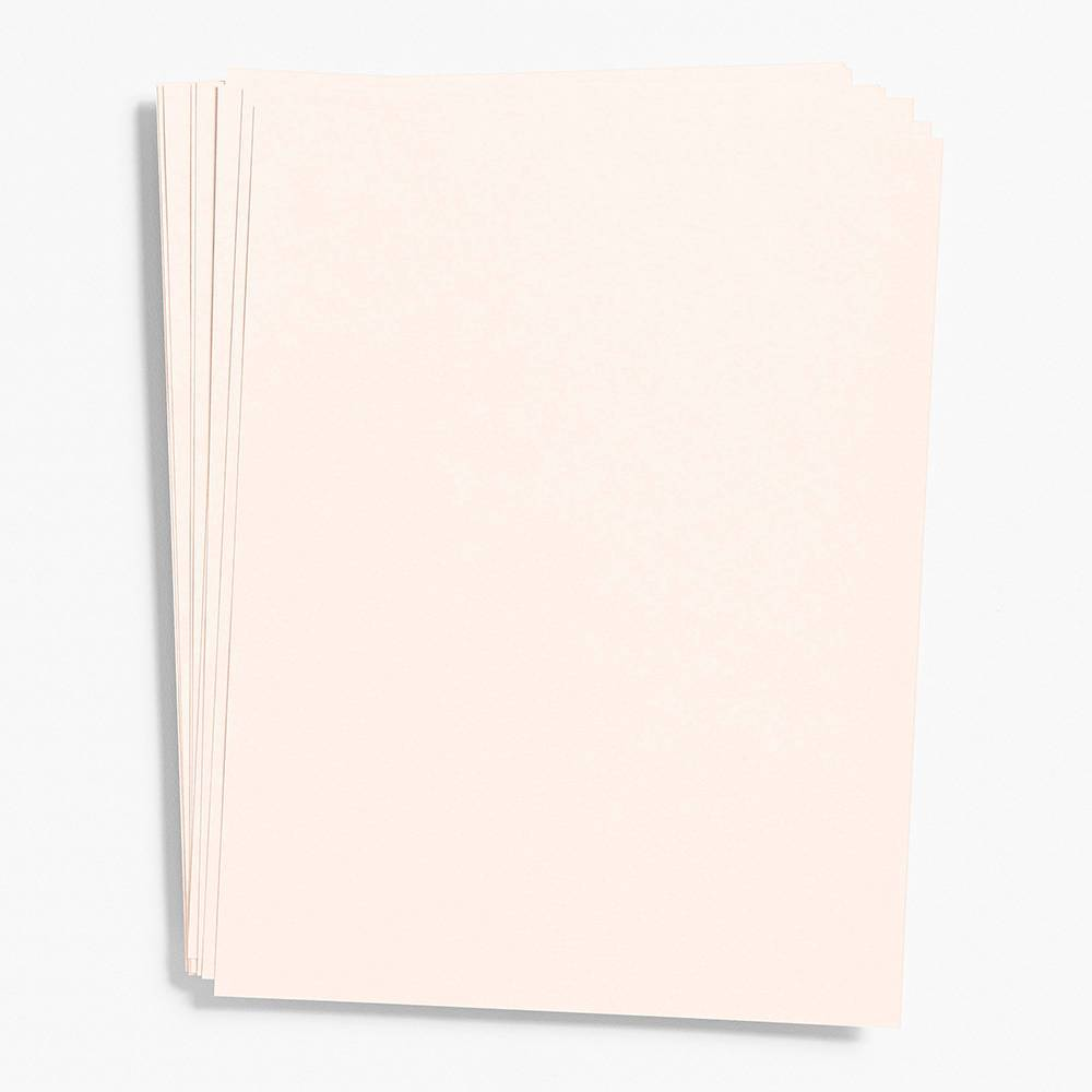 "Luxe Blush Paper 8.5"" x 11"" (Text Weight)"