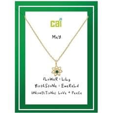 Flower Power Birthstone Necklace