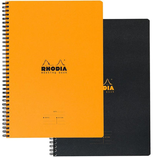 Rhodia Meeting Book A4 and A5