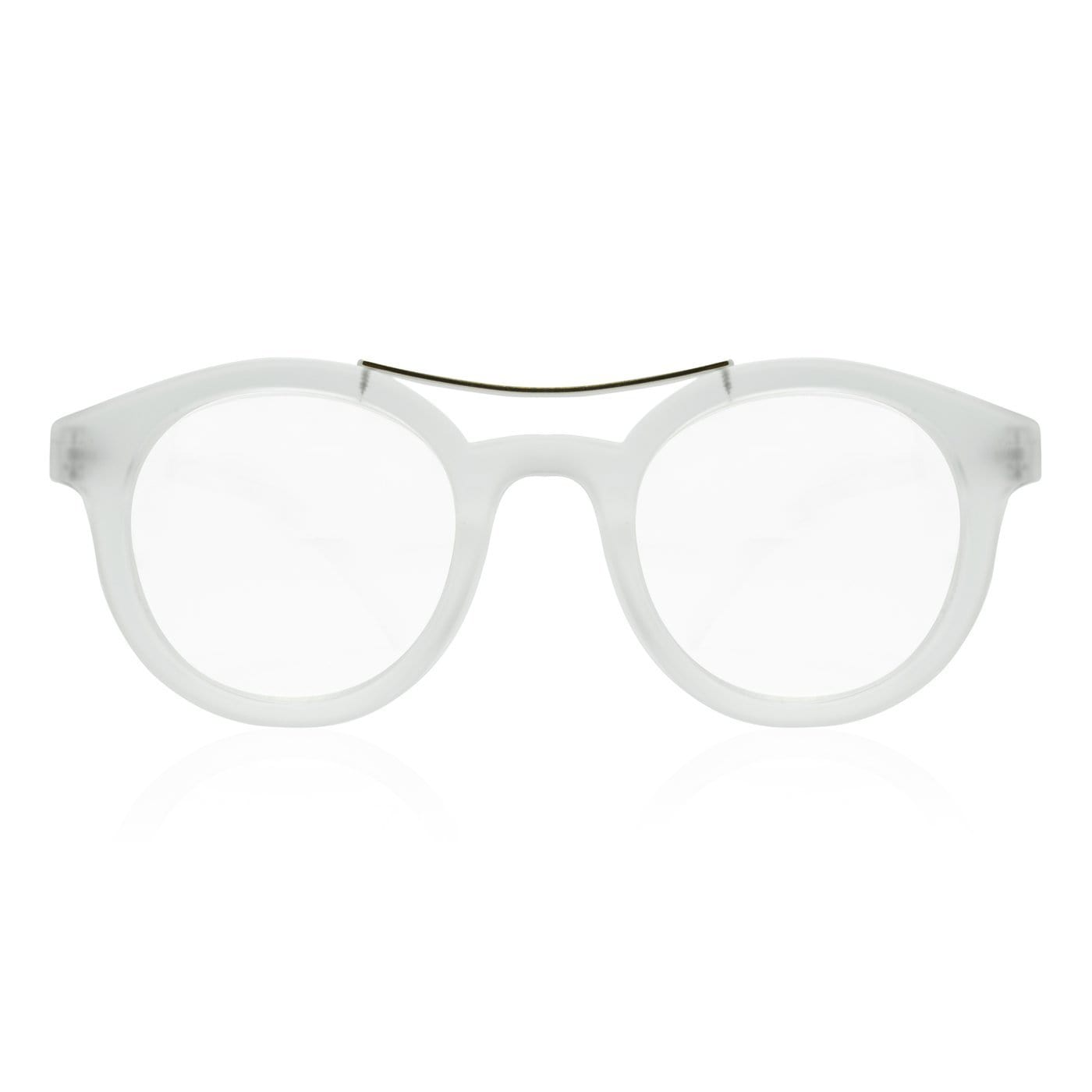 Meyer Translucent Matte Clear Blue Light Blocking Reading Glasses