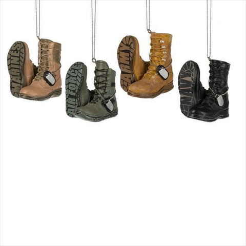 Military Boot Ornament