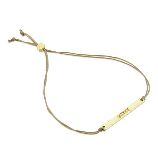 Gold Queen Morse Code Bar Bracelet