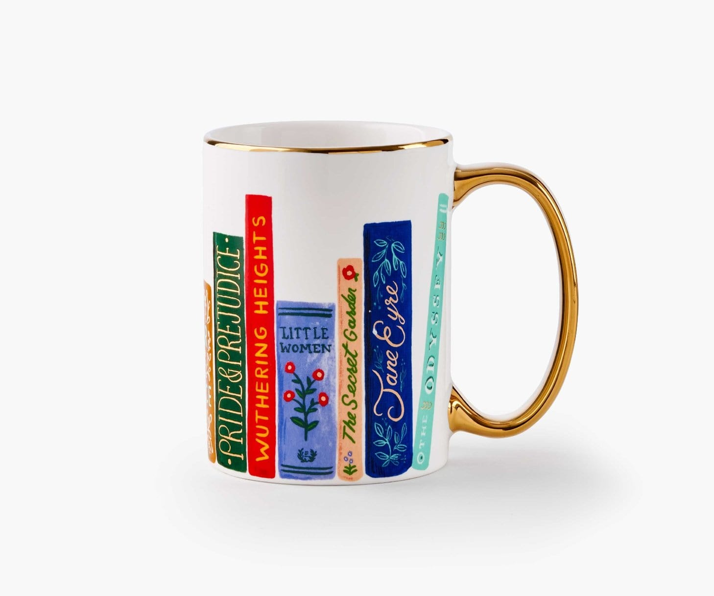 Book Club Porcelain Mug